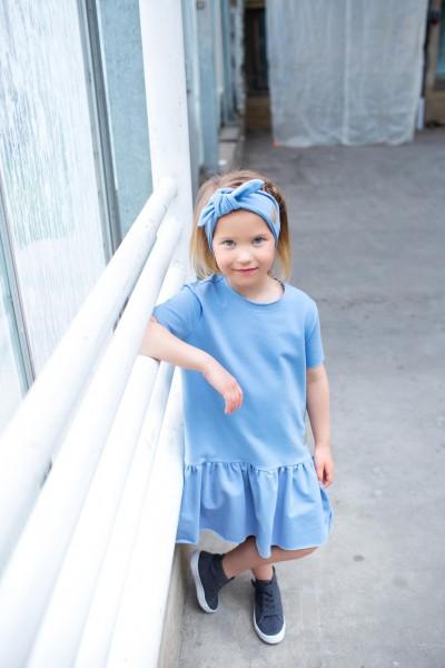 sukienka FRILL BLUE tuss