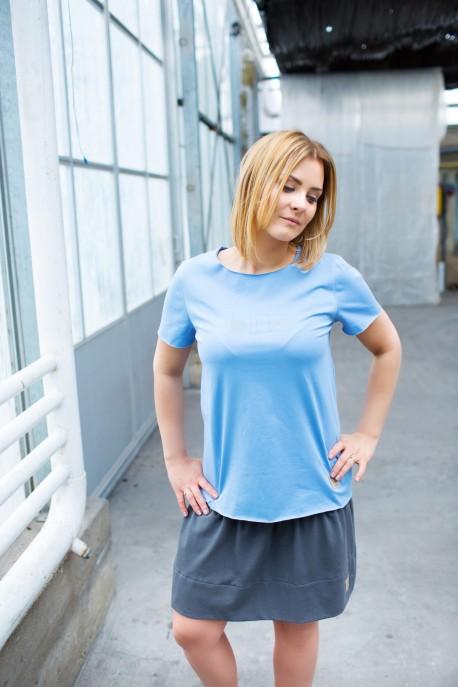T-shirt damski BLUE
