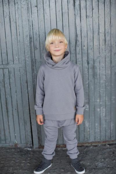 Bluza Winter HOODIE grey