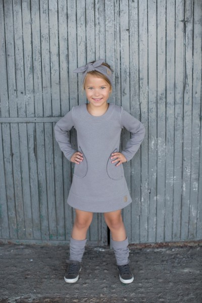 Winter DRESS grey