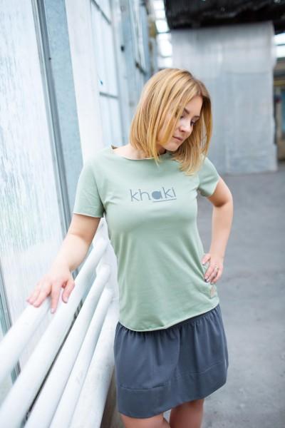 T-shirt damska KHAKI tuss