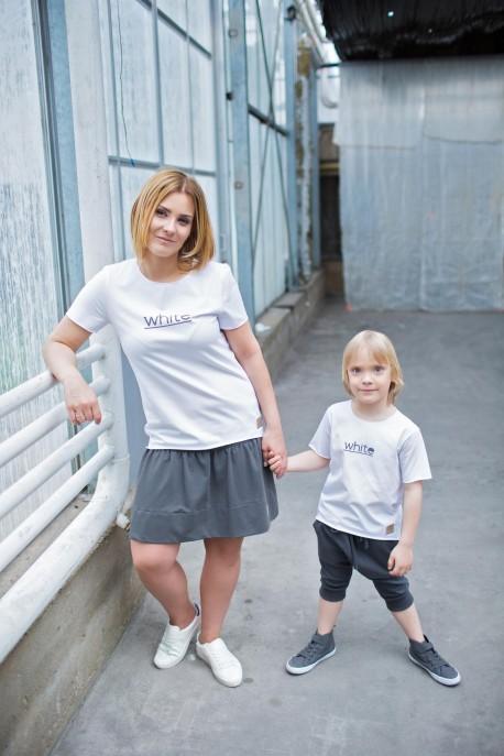 T-shirt damski WHITE tuss