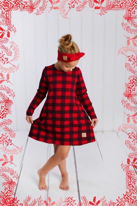 Sukienka Lovely czerowna