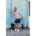 Bluza MOM dusty pink