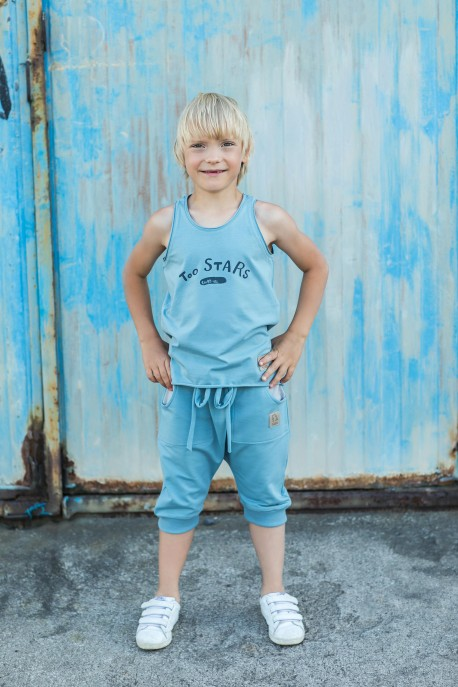 Tank Top dusty blue