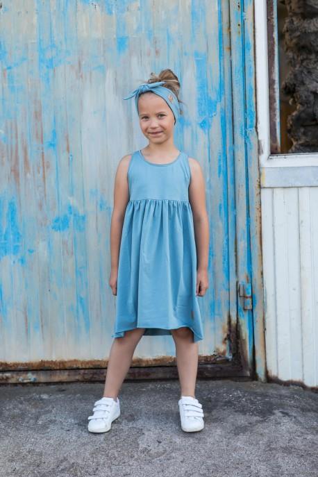 Sukienka Summer dusty blue
