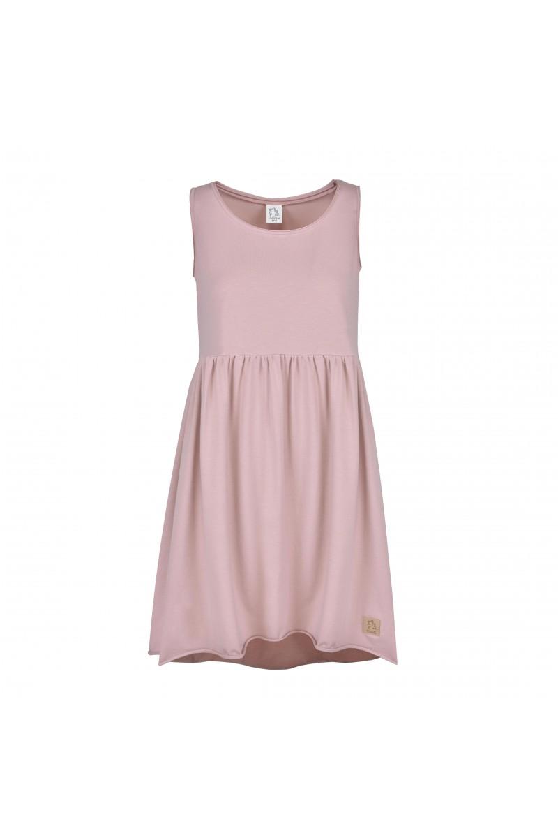 52aab3ba7d5b6f Sukienka Summer dusty pink damska - Tuss