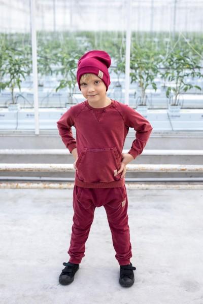 Bluza Bordo Cold Dye