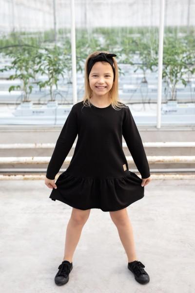 Sukienka FRILL czarna