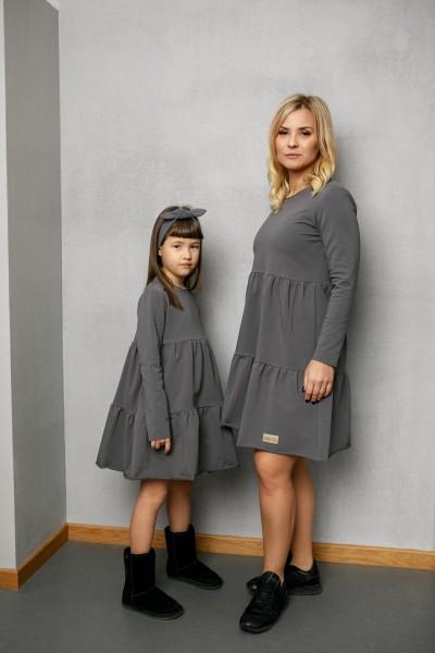 Sukienka damska LEA grey