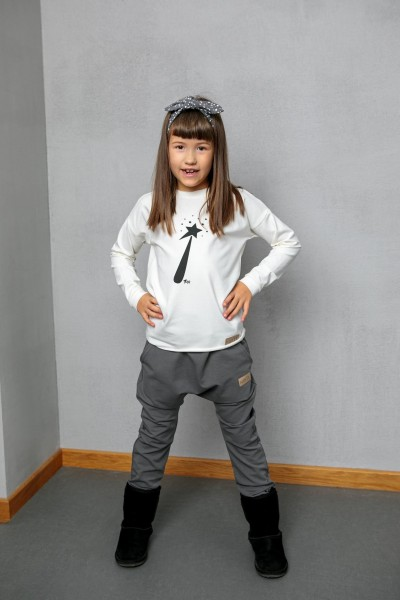 Spodnie BAGGY grey
