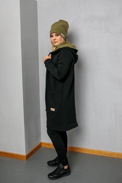 Bluzo-kurtka damska ZIP black