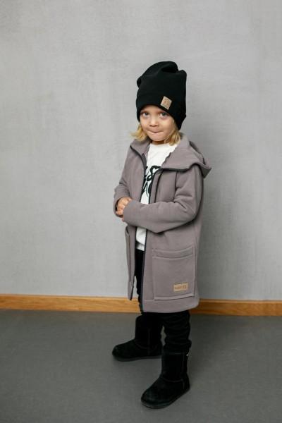 Bluzo-kurtka dziecięca ZIP grey