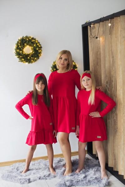Sukienka damska EVA czerwona