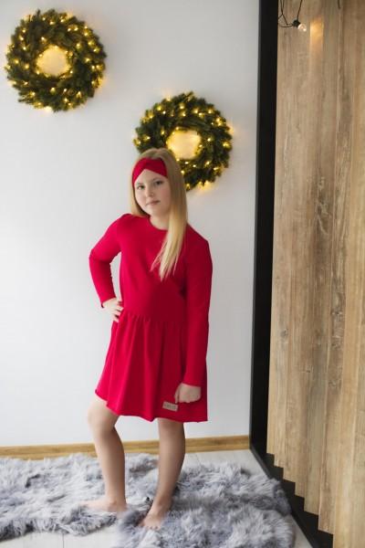 Sukienka EVA red