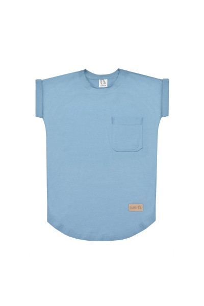 T-shirt POCKET blue