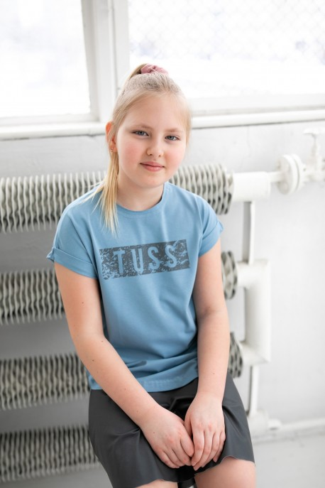 T-shirt TUSS blue