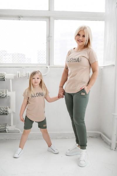 T-shirt ALOHA beige