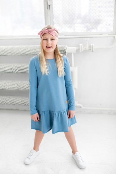Sukienka dziecięca FRILLY blue