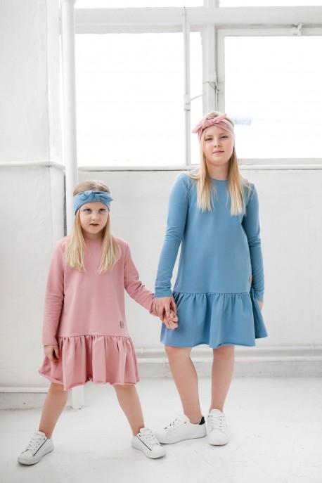 Sukienka dziecięca FRILLY pink