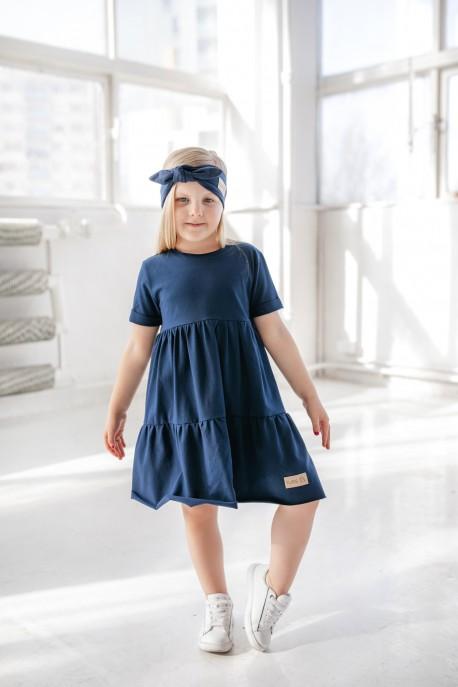 Sukienka dziecięca LEA navy