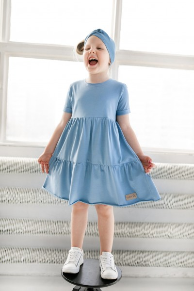 Sukienka dziecięca LEA blue