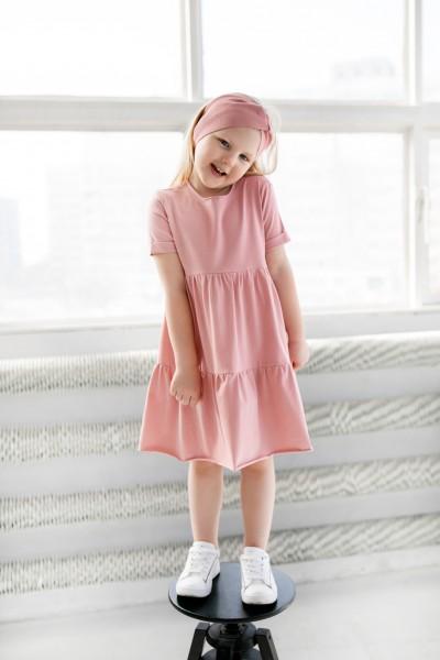 Sukienka dziecięca LEA pink
