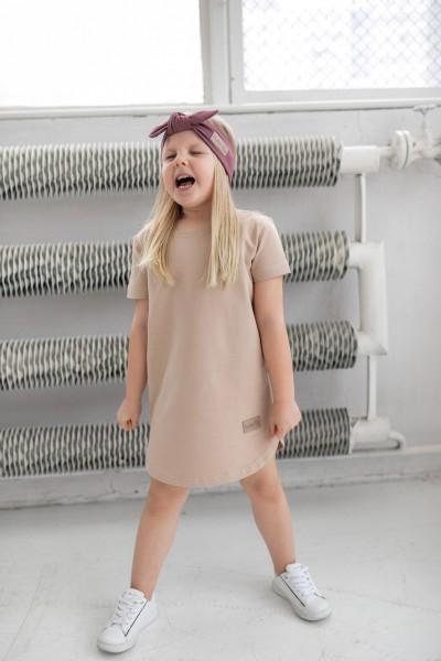 Sukienka dziecięca SIMPLE beige