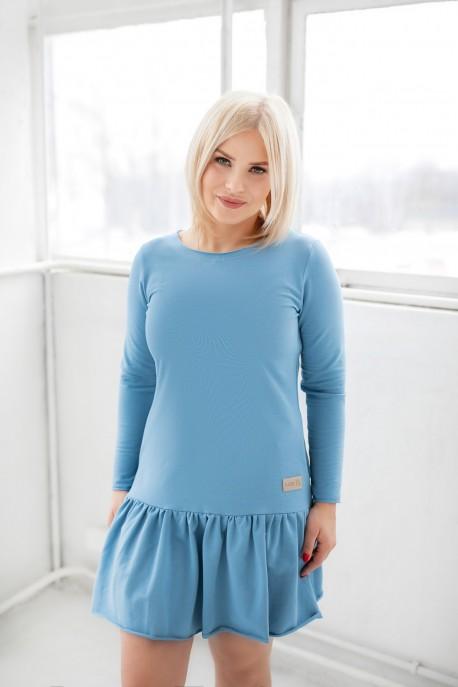 Sukienka damska FRILLY blue