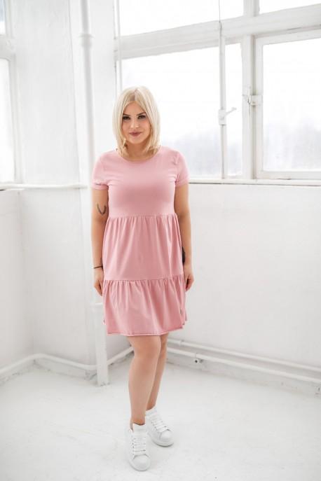 Sukienka damska FRILLY rose