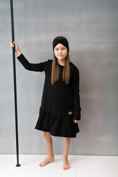 Sukienka dziecięca OVER FRILL black