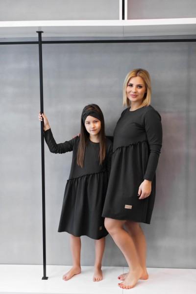 Sukienka damska CROSS graphite
