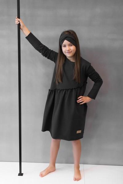 Sukienka dziecięca CROSS graphite