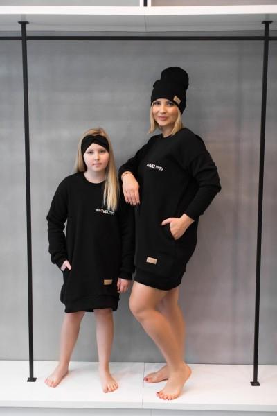Sukienka dziecięca RIB tuss black