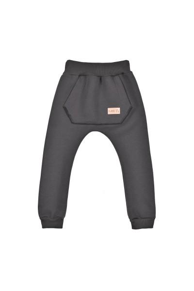 Spodnie BAGGY winter graphite