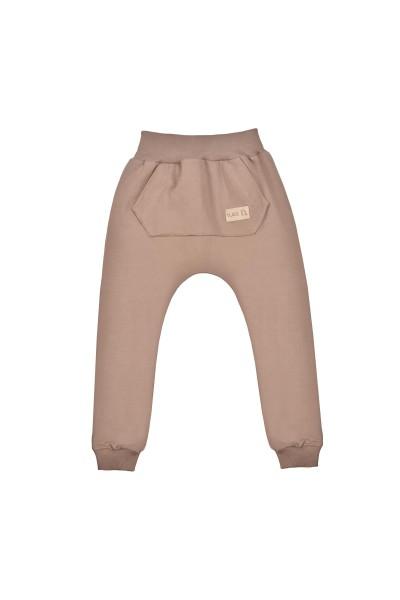 Spodnie BAGGY light brow POCKET