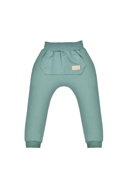 Spodnie BAGGY emerald