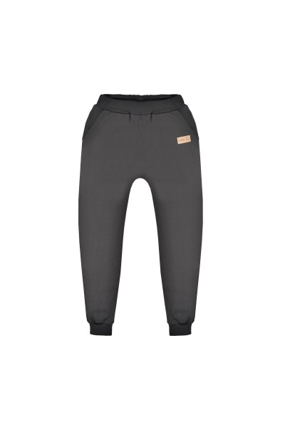 Spodnie damskie BAGGY graphite