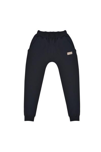 Spodnie damskie BAGGY black