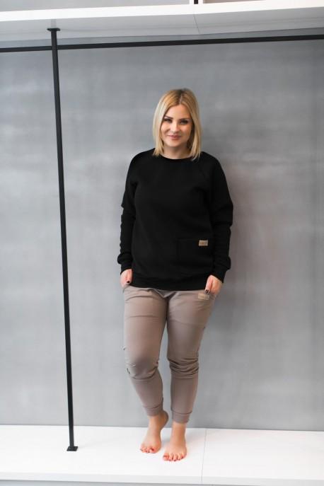 Bluza damska POCKET winter black